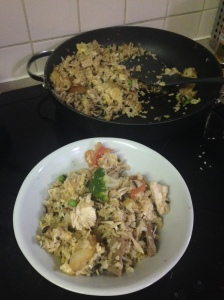 Chinese Stuff - aka tweaked fried rice