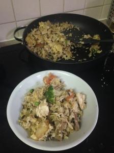 Chinese Stuff - aka tweaked fried rice
