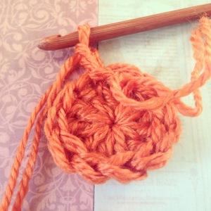 Orange Magic Circle for Fox Hat