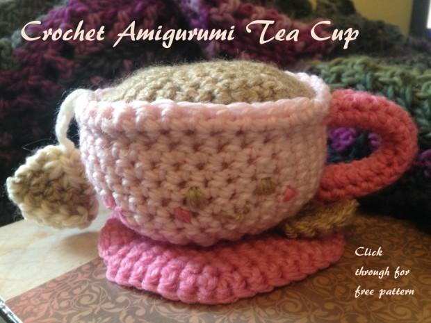 Crochet Amigurumi Tea Cup