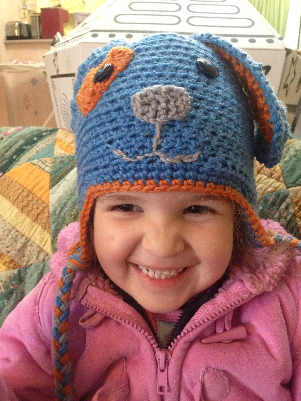 Crochet Woof Woof Hat